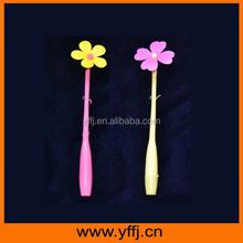 Cheap promtional flower design ball point pen