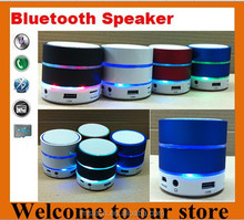 Wireless bluetooth Speaker S09 with flashing lamp,Support TF/SD Card, USB /FM and handsfree