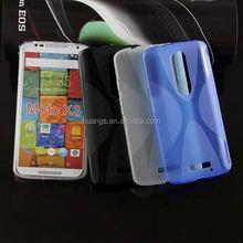 2015 Stylish X line phone case tpu cover case for motorola moto x3 wholesale alibaba