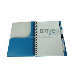 2015 professional custom design cheap school paper note book