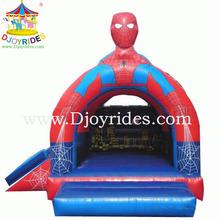 Hot !!! hombre araña inflable castillo inflable para la venta