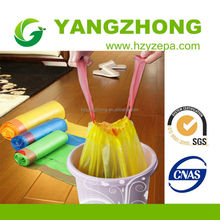 China manufacturer Plastic new design products colored durable garbage bag