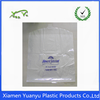 Simple printed clear garment bag/clear dry cleaning bag