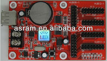 TF-AU alibaba express Shenzhen Asram LEDMAN p10,p16 single color and dual color rs232 led display controller software system