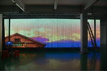 P20mm transparente LED pantalla para Navidad y año nuevo Show