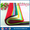 Colored polyester needle punch felt for children handmade craft