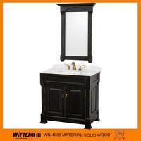 black cheap granite top bathroom vanity