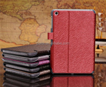 For ipad mini stand pu leather case