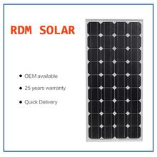 MONO SOLAR PANEL 100 watt high efficiency solar module