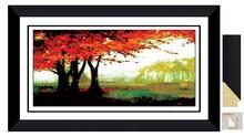 Black Frame art pictures frame decorative for bedroom J04411-018G