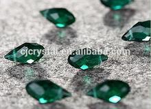 Multi turmalina perlas de gota de agua