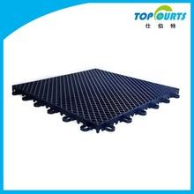 Double layers outdoor/indoor gymnasium sports plastic floor