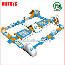 inflatable floating water park, adult water park inflatable floating toys for sea