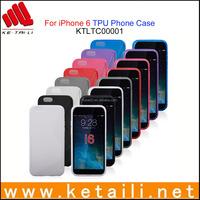 Unique design soft TPU phone case for iphone 6