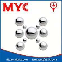 Good quality 6.35mm copper hollow chrome steel ball