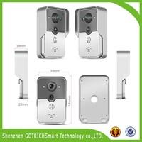 Video Door Phone Intercom Doorbell System WiFi Connection Doorbell
