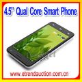 """Lo más vendido 4.5"""" pulgadas delgada doble android inteligente de alta calidad de teléfono"""