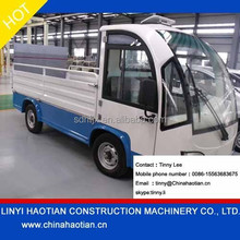 cheap 1.5ton electric truck with 2 seats for sale