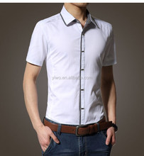 New Fashion Casual Slim Fit Men's Formal T-shirt