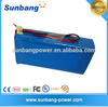 High quality portable 24V 100Ah electric bike battery price for camping