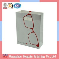 Promotional Die Cutting Handle Recycle Paper Carrier Bag