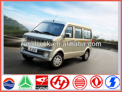 China famous brand dongfeng new model 7 seater mini van for sale in philippines