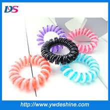 Hot sale new style wholesale multicolor thin telephone wire hair band TS-068