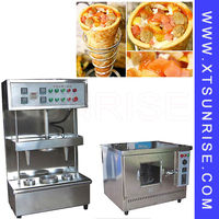 Easy to operate large supply of pizza vending machine, pizza dough rolling machine, automatic pizza making machine