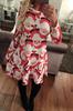 custom sublimation polyester and lycra stretchy dress