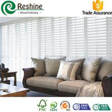 White reinforced internal PVC closet shutter
