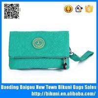 Latest designer lady's simple nylon coin purse and fashion handbag