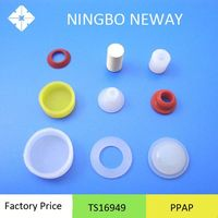 Molding custom synthetic rubber components