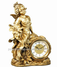 antique artistic decorative table clock