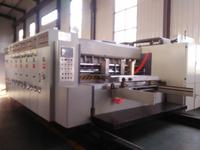 High speed flexo four color cardboard printing machine/corrugated carton box printing machine