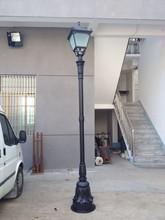 3m aluminum lamp pole European style decorative garden lamp pole classic street lamp pole steel aluminum decorative lamp post