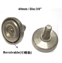 40 mm Heavy Duty Adjustable Stainless Steel Leveling Foot