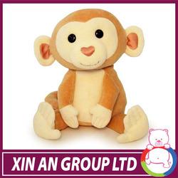 AD58/ASTM/ICTI/SEDEX 2015 naughty and amusing with good shape plush monkey