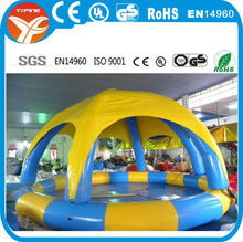 Hot Sale outdoor inflatable swimming pools/giant swimming pool