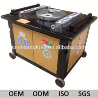 36mm 50mm 4Kw price manual bar bending machines GW50 semi automatic machine