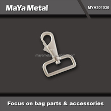 Solid brass gold buckle dog snap hook 50mm