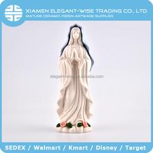 Promoción Barato hecho a mano al por mayor de cerámica religiosa diosa estatua estatuilla