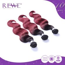 Good Prices Clean And Soft Human Inch 8-30 Mongolian Ombre Hair Extension Extensions