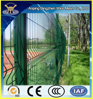 6ft height Plastic Coated Security Welded Wire Mesh Fence Panel