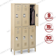 Top quality school used metal wardrobe cabinet
