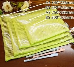 Color Pvc/pp Plastic Document Envelope Bag
