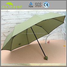 3 Folds Promotional Lady Umbrella With Silk Printing