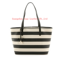 2015 China newest wholesale exported leather women handbag from alibaba supplier