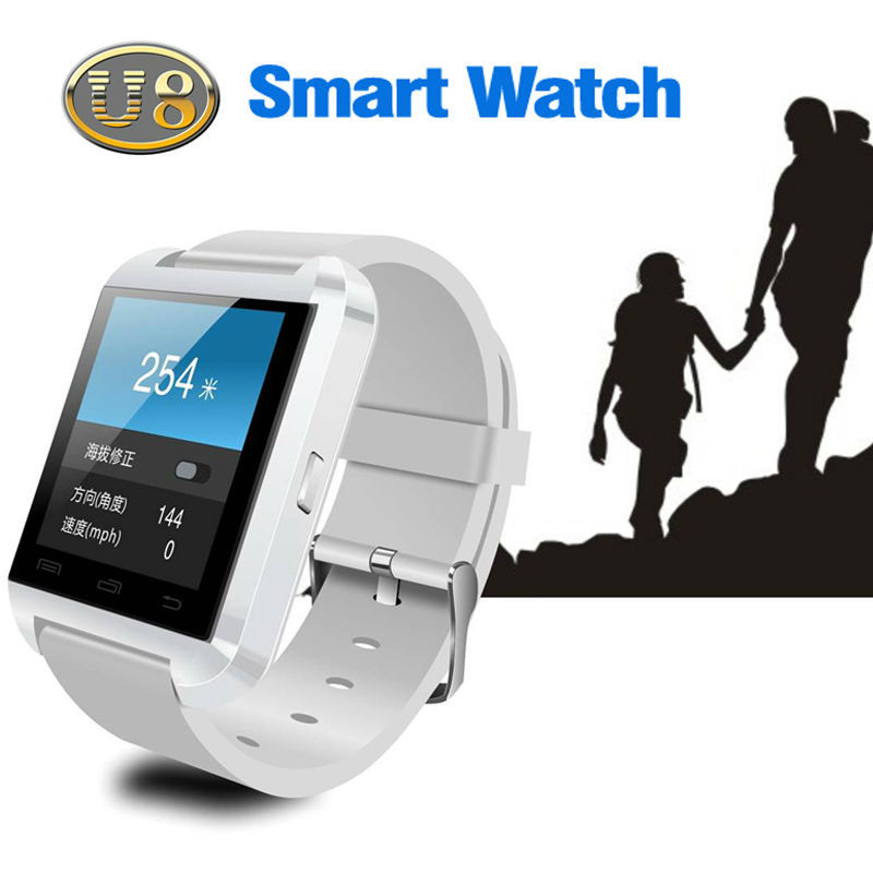 bluetooth watch u8 smart watch, 2015 stylish NEW arrival