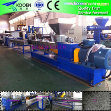 Full automatic parallel twin screw granulator