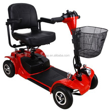 300W Comfortable 4 Wheel Electric Scooter for Disabled